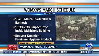 Womxn's March Denver is Saturday