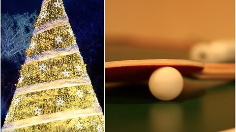 If You Have a Real Christmas Tree, You Need to Know the Ping Pong Ball Trick