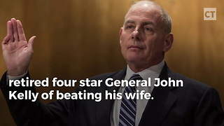 Unhinged: Kathy Griffin Calls John Kelly a Wife Beater - Video