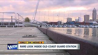 Rare look inside old Coast Guard Station - Video
