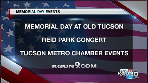 Need Memorial Day Weekend plans? Check out this list!