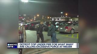 Detroiters respond after online video shows DPD officer striking man w/ baton - Video