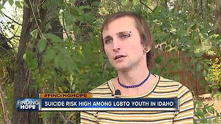 #FINDINGHOPE: Suicide risk high among LGBTQ youth in Idaho