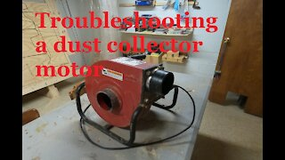 How to Troubleshooting Dust Collector motor