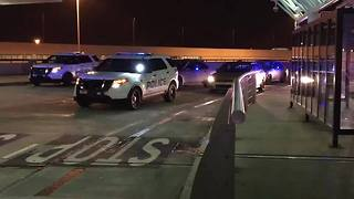 Police Pursuit Ends At Nashville International Airport - Video