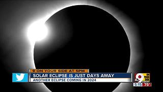 Cincinnati will see the eclipse better on 2024 - Video