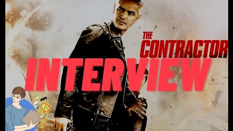 Alejandro De Hoyos Discusses His Film 'The Contractor' | StudioJake Interviews