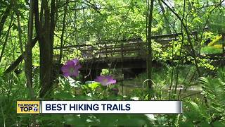 Thursday's Top 7: Best hiking trails in metro Detroit
