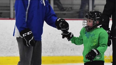 St. X goaltender forges special bond with young fan