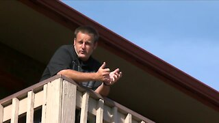 Lakewood man wakes up on birthday and discovers his work van was stolen