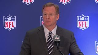 Goodell: 'Players should stand for anthem' - Video
