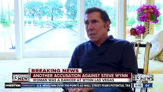 UPDATE: New woman accuses Steve Wynn of sexual harassment - Video