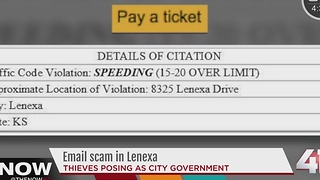 Lenexa PD: Residents fall victim to email scam - Video