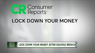 Consumer Reports: Lock down your money after Equifax breach - Video