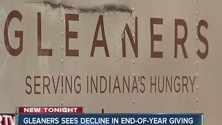 Gleaners makes urgent plea for year-end donations - Video