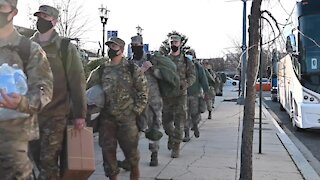 Military Occupation in Washington DC - National Guard Lockdown U.S. Capitol