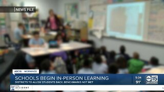 Queen Creek students head back to the classroom Monday