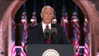 VP Mike Pence mentions Kenosha unrest during RNC speech
