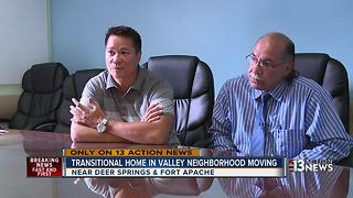 Transitional home moving after 13 Action News story