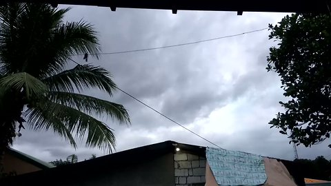 Dark Clouds Spotted in Pampanga Province Ahead of Tropical Storm Urduja