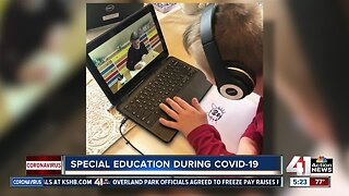 Special education students, parents adjust to online learning