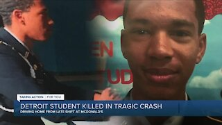 Detroit student killed in tragic crash
