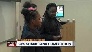 Cincinnati Public Schools students take part in 'Shark Tank' competition - Video