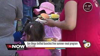 Free summer lunch program starts
