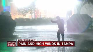 Rain and high winds batter central Florida with Hurricane Irma - Video