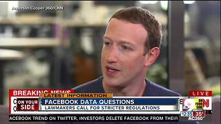 Facebook data questions - Video