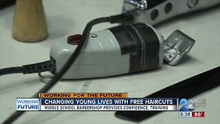 Changing young lives with free haircuts