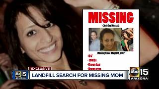 Landfill search for Christine Mustafa's body to begin in October - Video