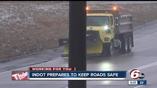 INDOT prepares to keep roads safe ahead of more snowfall - Video