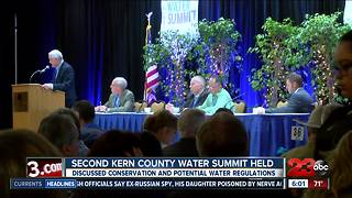 Second Kern County Water Summit held in Bakersfield - Video