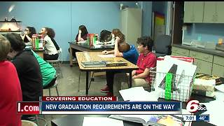 New statewide high school graduation requirements to impact class of 2022 - Video