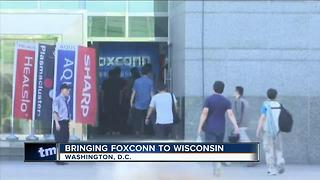 Foxconn announcement could come Wednesday from the White House - Video