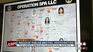 Massage Parlor Brothel Investigation - Video