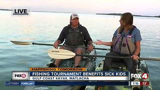Fishing tournament raises funds for sick kids - Video