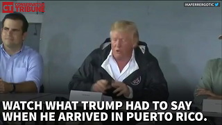 Trump Puerto Rico - Video