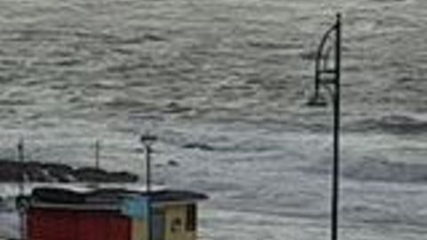 Strong Winds Batter Coastal Village as Storm Ali Hits West of Ireland