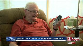 WWII veteran receives call from old division 5p.m. - Video