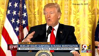 Mueller issues subpoena in Russia investigation