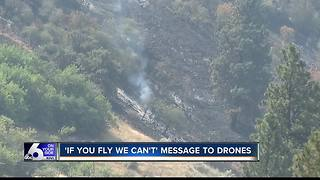 'If you fly we can't,' message from BLM to drone users