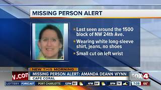 Woman missing from Cape Coral - Video