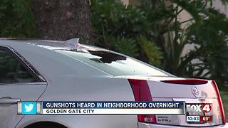 Gunshots heard in Neighborhood Overnight - Video