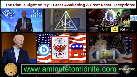 """The Plan is Right on """"Q"""" - Great Awakening and Great Reset Deceptions!"""