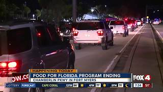 Final day of Food for Florida draws long lines