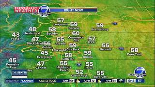 Partly cloudy, with scattered PM storms - Video