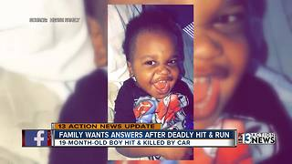 Family still searching for answers after toddler killed in hit-and-run crash - Video