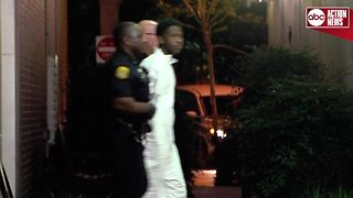 Suspected Seminole Heights Killer transported to jail. - Video